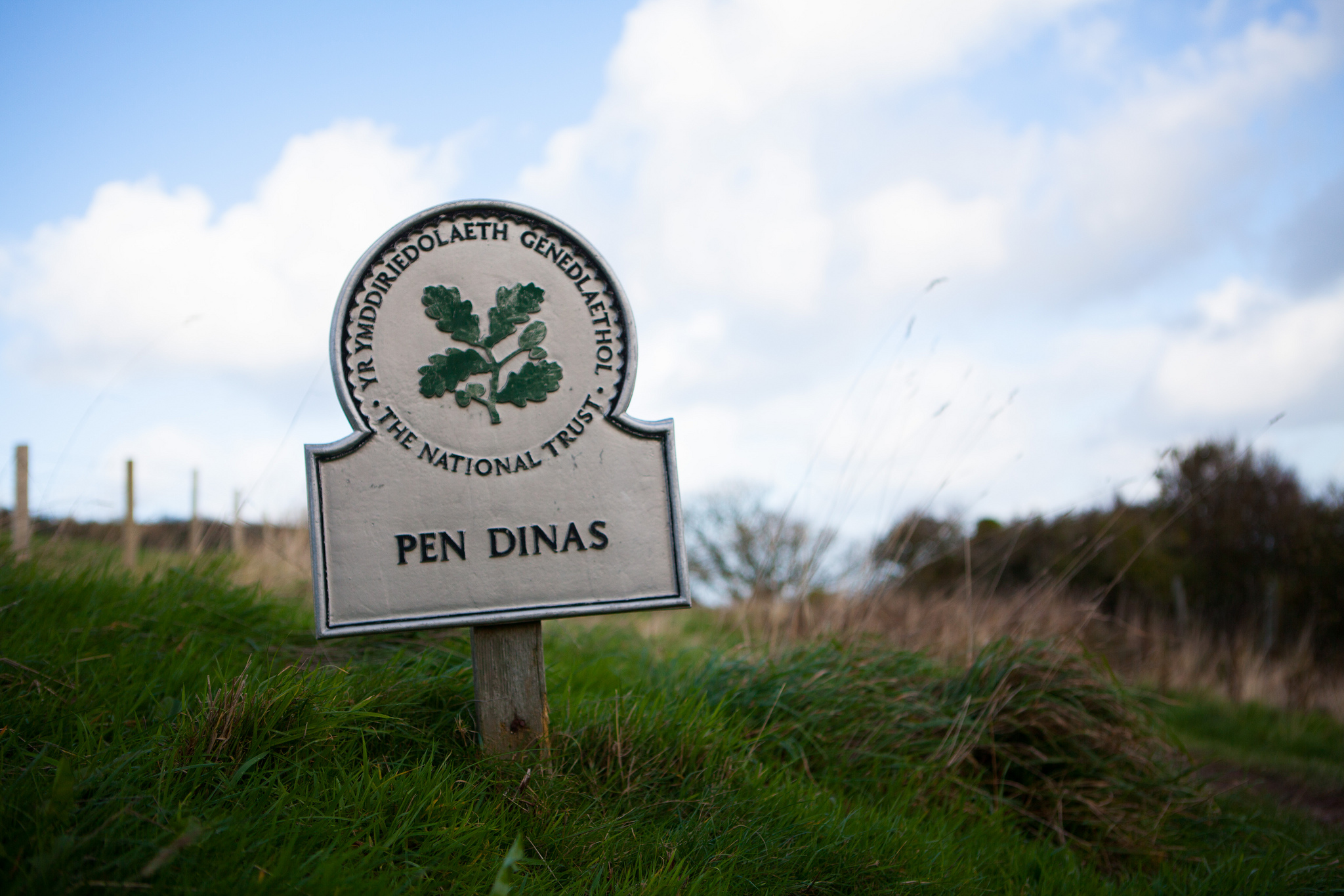 Pen Dinas Sign