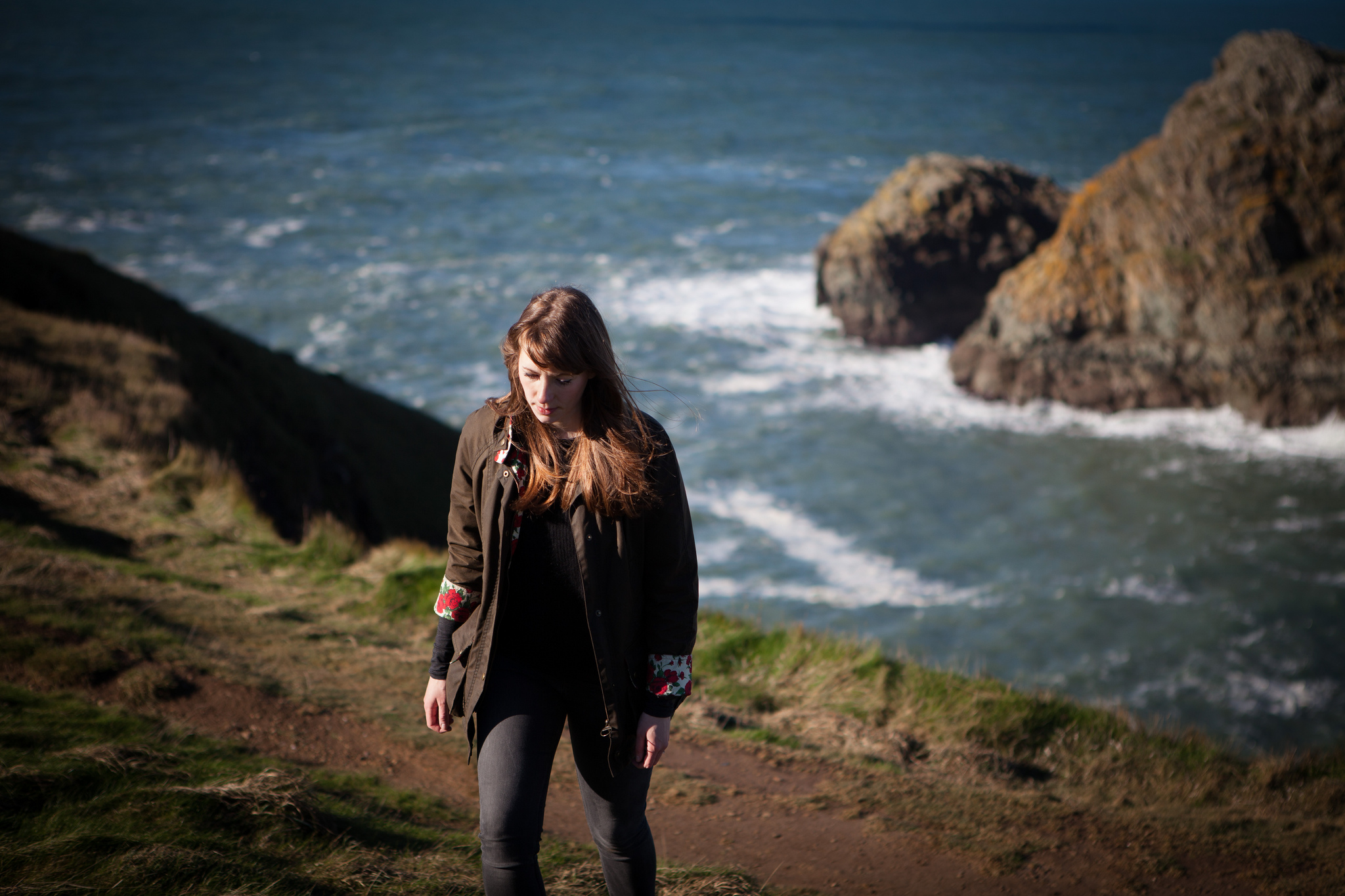 Emily in Pembrokeshire