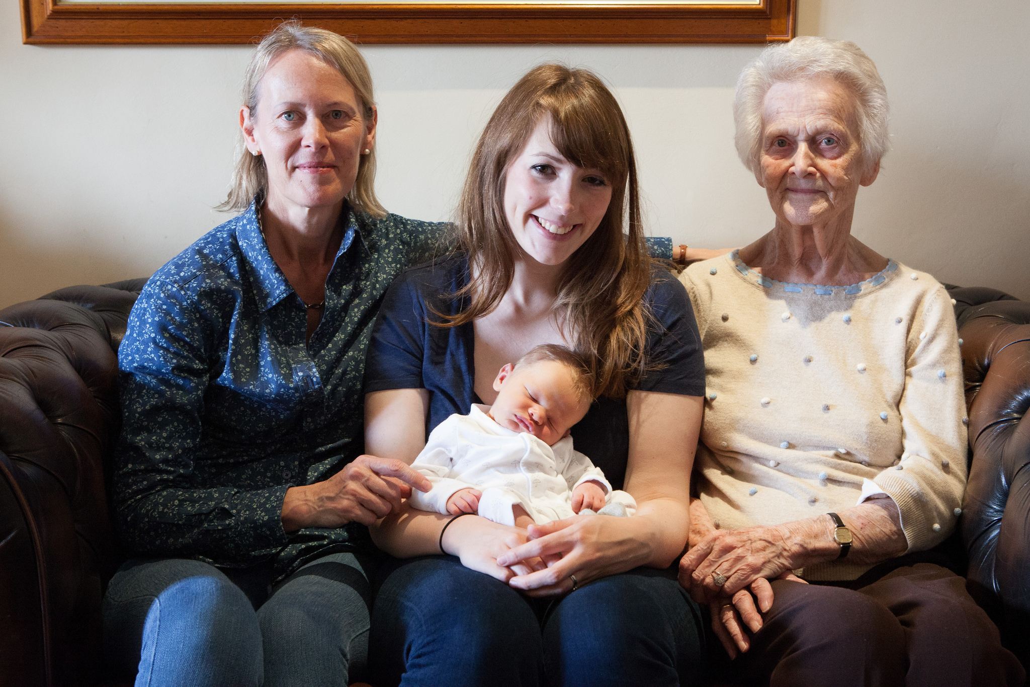 Freddie and his Granny and Great Granny